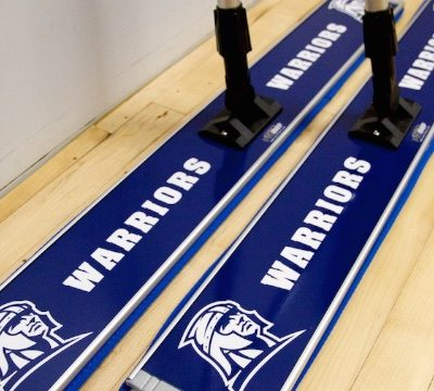 corban university basketball floor mop