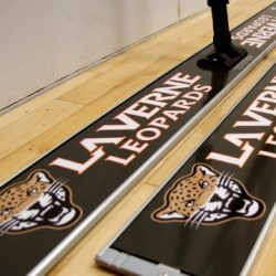 laverne university basketball floor mop
