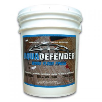 AQUADEFENDER BASKETBALL WOOD FLOOR FINISH FOR COATING HARDWOOD GYMNASIUM FLOORS DANCE STUDIOS AND RACQUETBALL COURTS