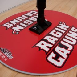RAGIN-CAJUNS - HYPER-DRI 18 BASKETBALL/VOLLEYBALL SWEAT MOP