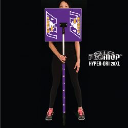 Promop Hyper-Dri 20XL customized basketball mop with logo