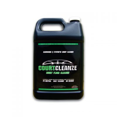 COURTCLEANZE CLEANER FOR BASKETBALL COURTS THAT IS READY TO USE SO YOUR SURFACE DOESN'T GET SLIPPERY