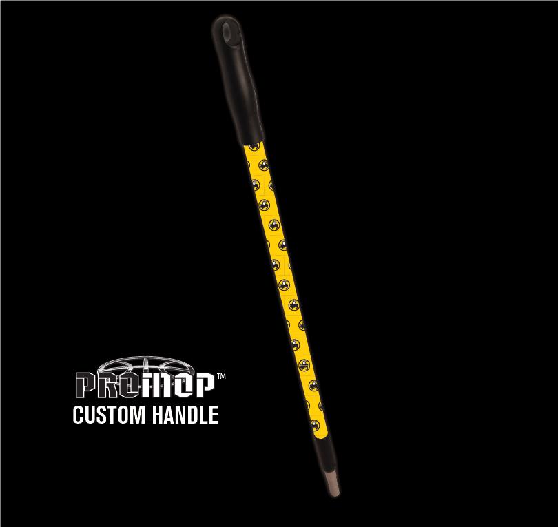 Promop customized basketball mop handle