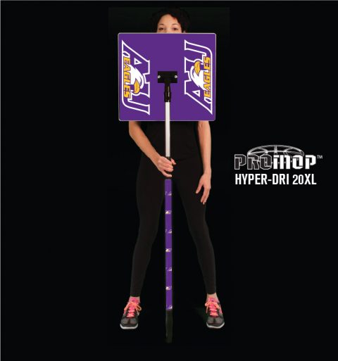 Promop Hyper-Dri 20XL customized basketball mop with logo