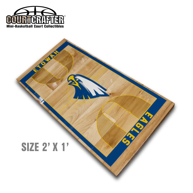 Basketball memorabilia product tags courtsports store for Average basketball court size